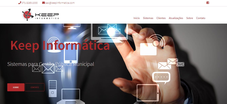 Empresa com mais de 20 anos de atuação no mercado de sistemas para gestão pública municipal
