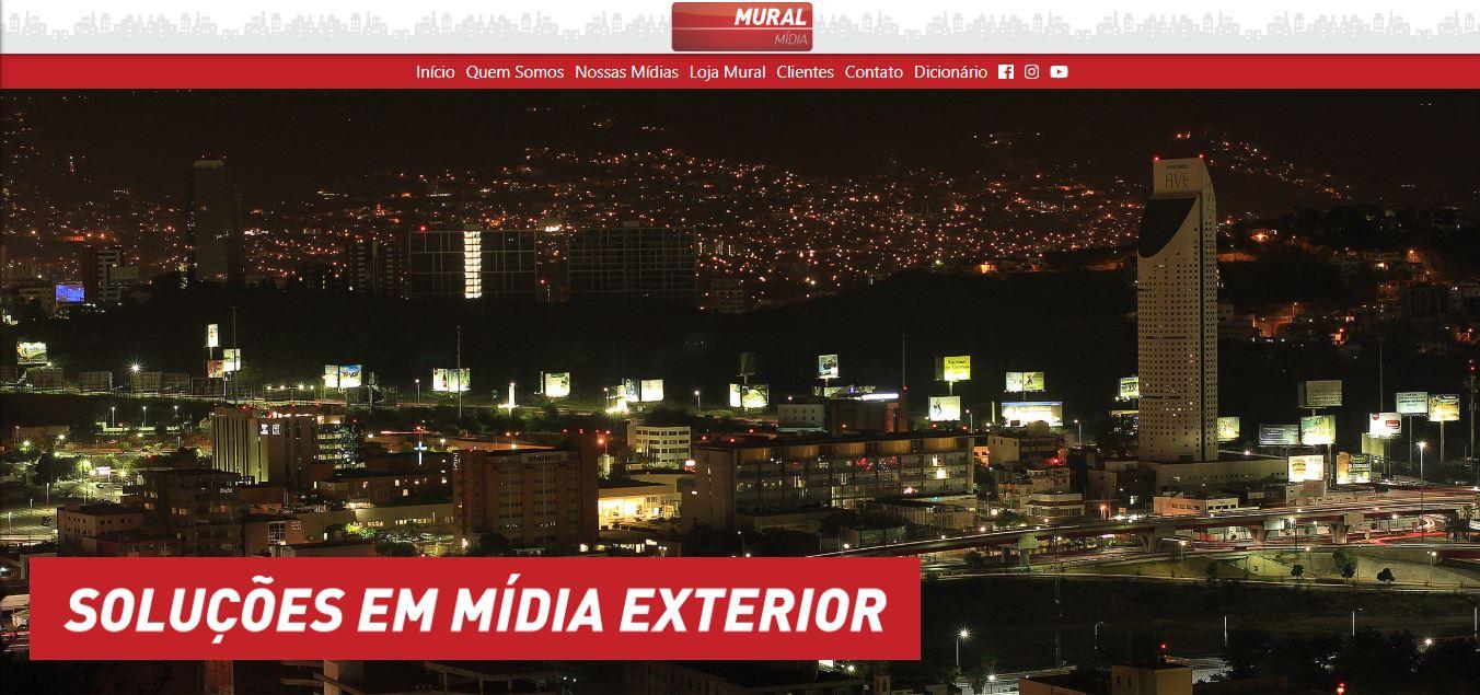 Empresa especializada em Mídia exterior [outdoors, front-light, busdoor, painéis rodoviários, entre outros...]
